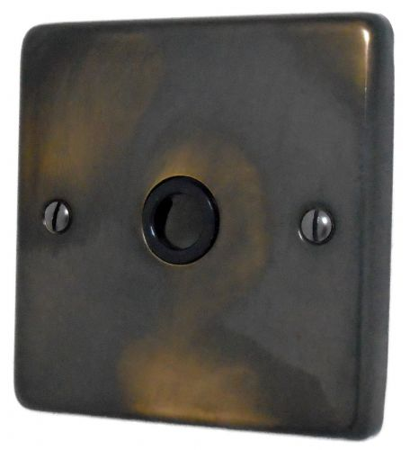 G&H CAN79B Standard Plate Polished Aged Brass 1 Gang Flex Outlet Plate